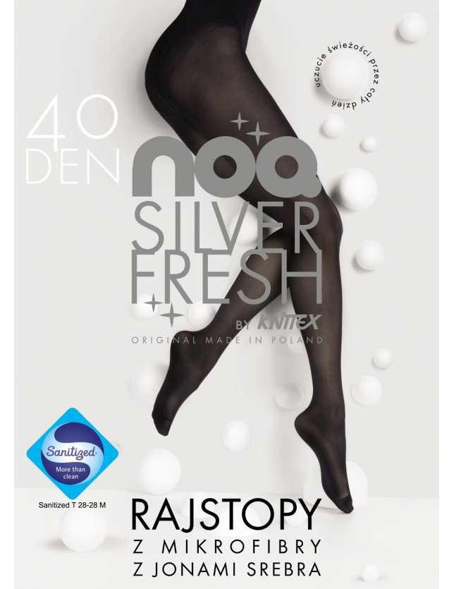 Ezüstszálas harisnya Silver Fresh