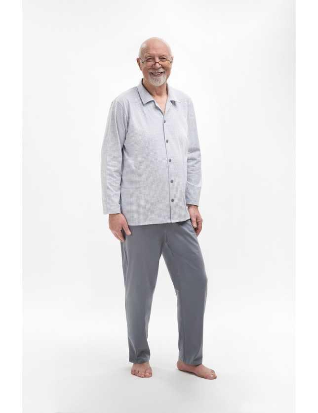 Klasszikus pizsama Antoni 403 dł/r 3XL-4XL
