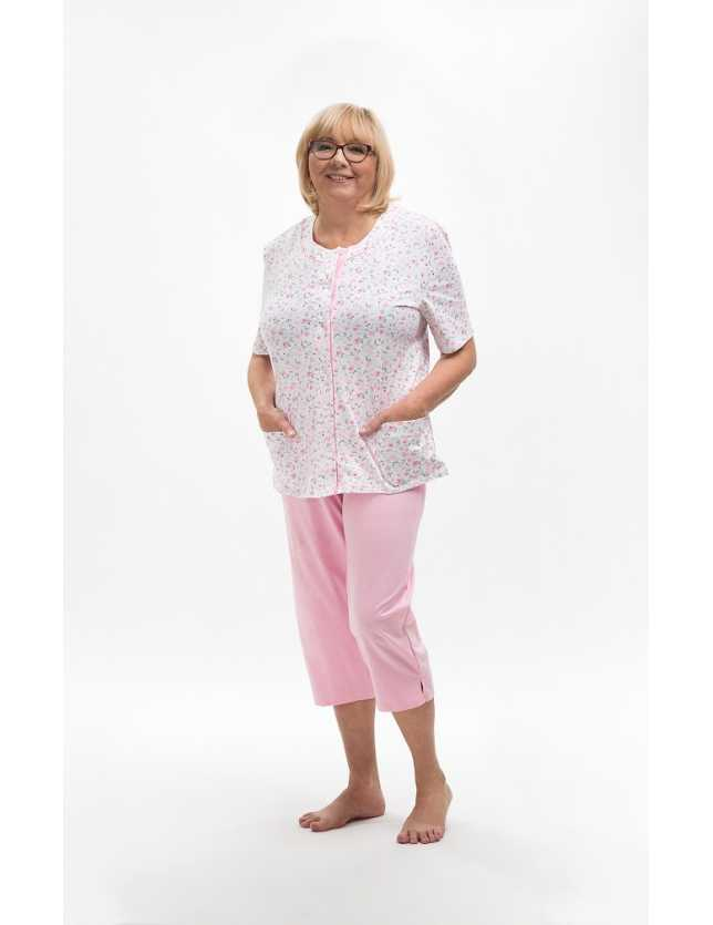 Elöl gombos női pizsama Maria I 200 kr/r M-2XL