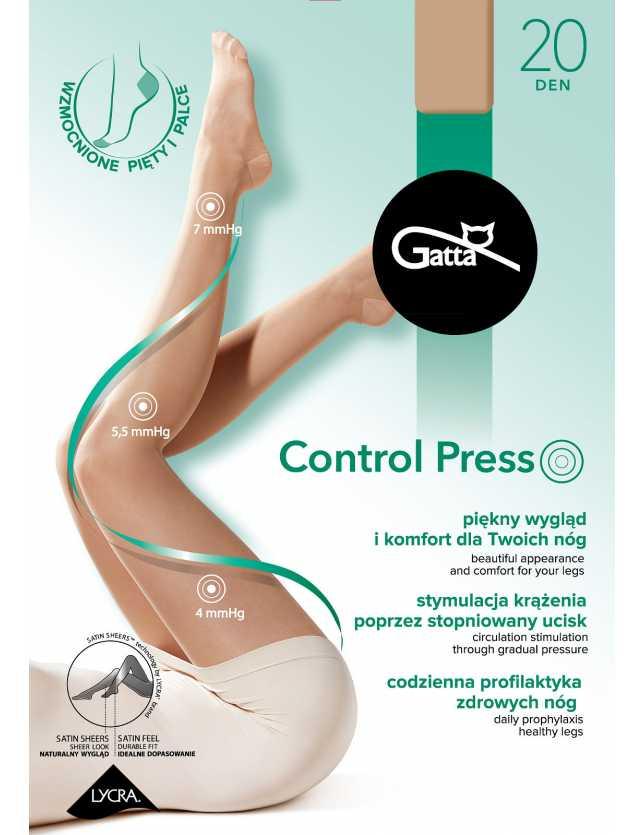 Kompressziós Control Press 20 den 2-5
