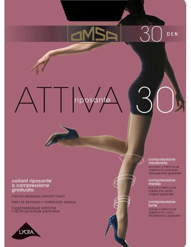 Kompressziós Omsa Attiva 30 den S-XL