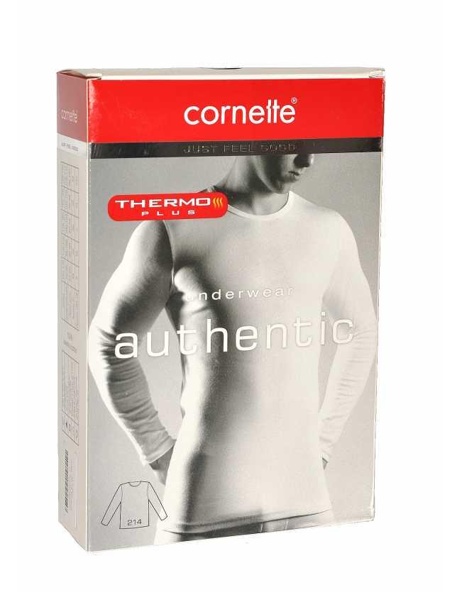 Hosszú ujjú póló Authentic Thermo Plus 214 4XL-5XL