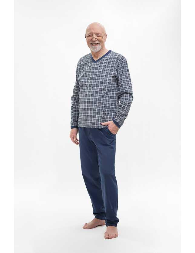 Nagyméretű pizsama 402 Roman dł/r 3XL-4XL