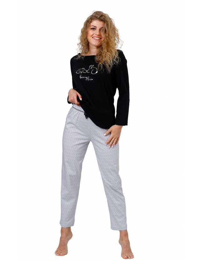 Piżama M-max Skarlett 959 dł/r M-2XL