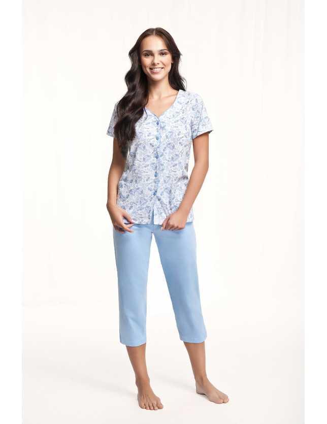 Nagyméretű gombos pizsama 476 kr/r 4XL