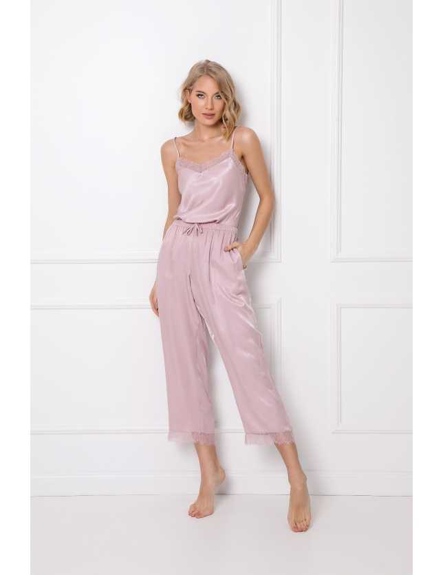 Elegáns női pizsama Lucy Long w/r XS-2XL