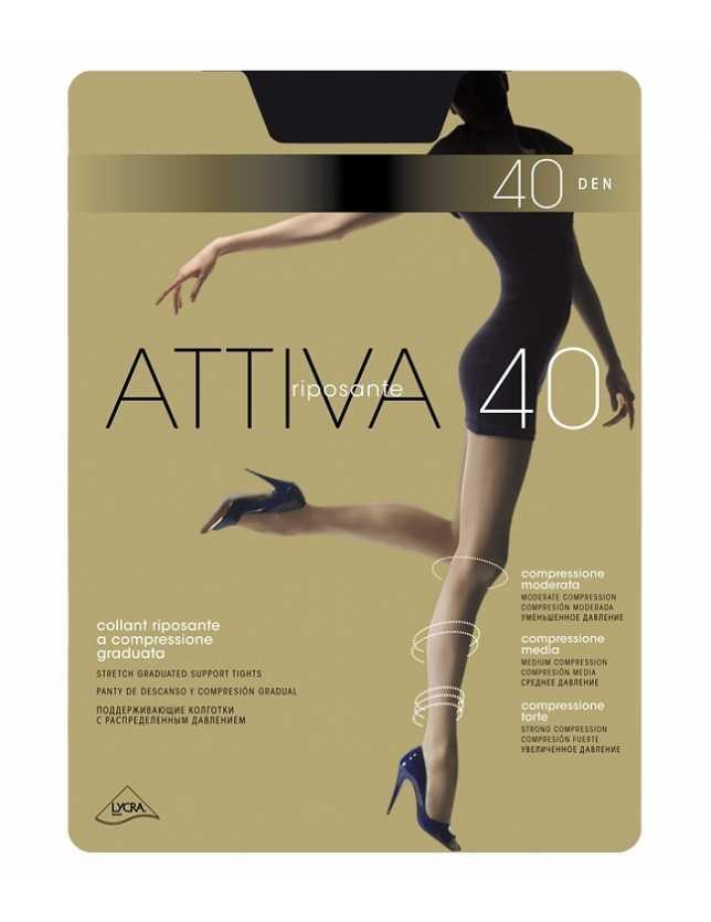 Omsa Attiva kompresszios harisnya 40 den XXL
