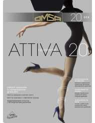 Omsa Attiva kompresszios harisnya 20 den S-XL