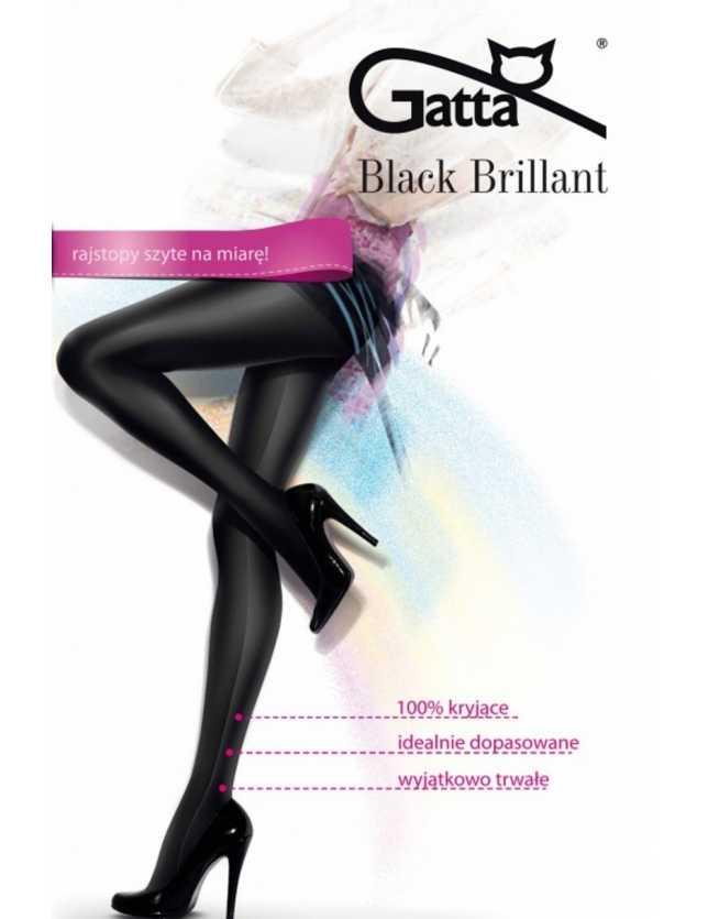 Brillant fekete harisnya
