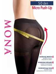 Mona Micro Push-Up harisnanadrag 50 den 2-4