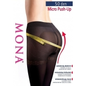 Mona Micro Push-Up harisnyanadrag 50 den 5-XL