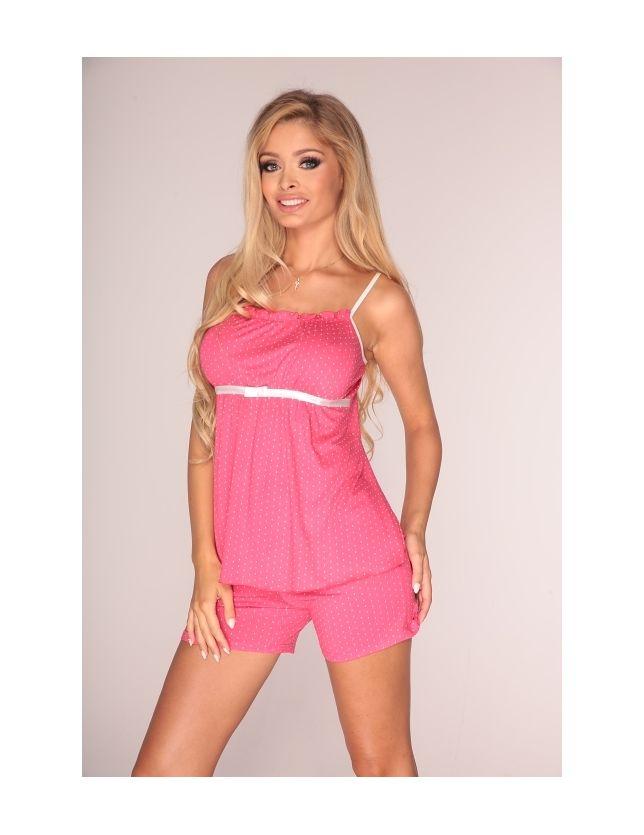 Sortos , spagettipántos női pizsama 915