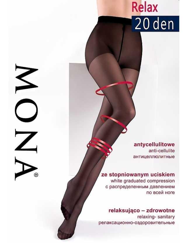 Mona Relax kompressziós harisnya 20 den XL