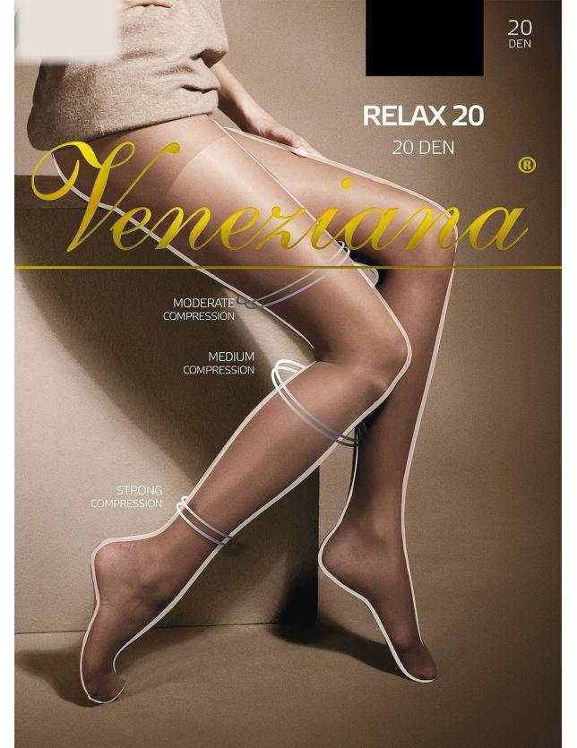 Veneziana Relax kompresszios harisnya 20 den
