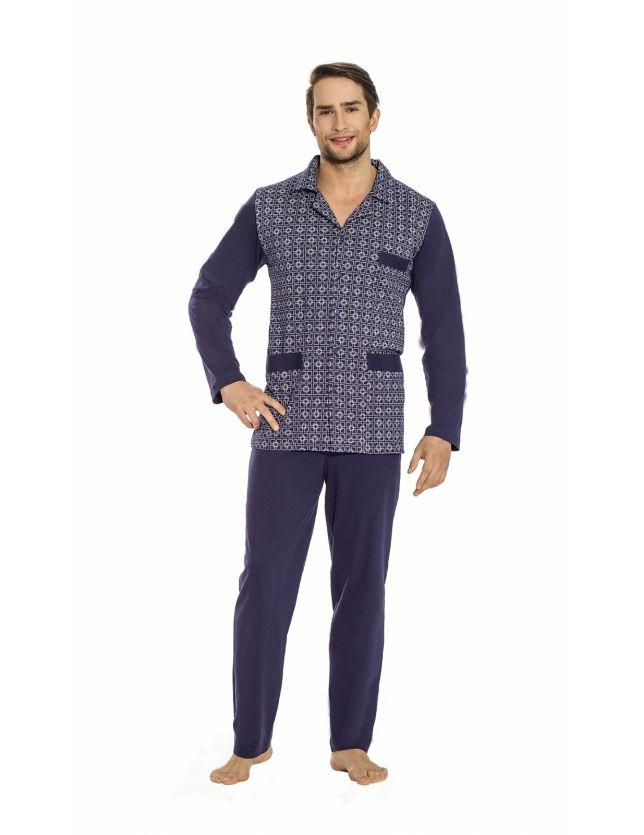 Luna 797 férfi pizsama 3XL-4XL 68a279e345