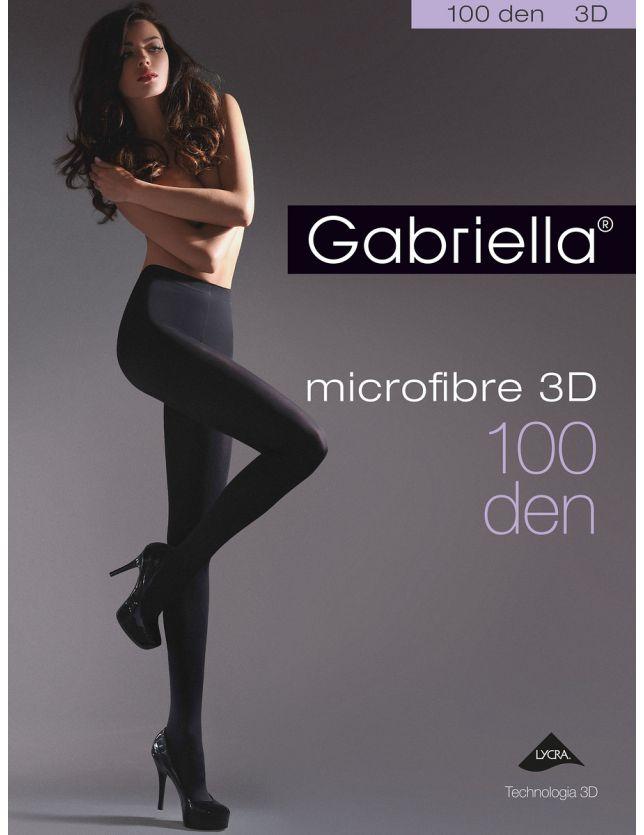 Gabriella Microfibre 3D harisnya 119 2-4 100 den