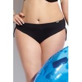 Beach bikini alsó fekete midi