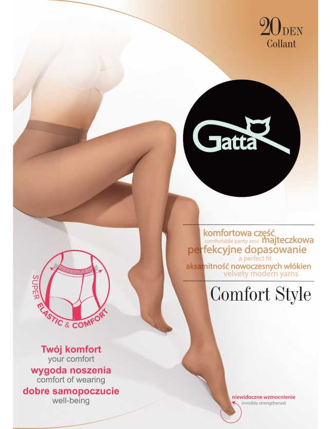 Gatta Comfort Style noi harisnya 20 den 2-4