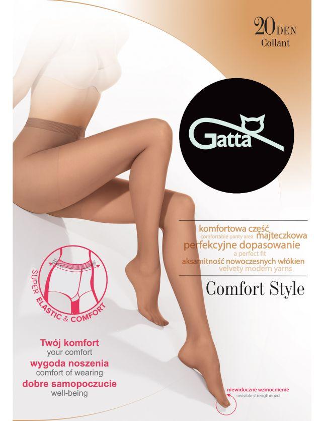 Gatta Comfort Style noi harisnya 20 den 5-XL