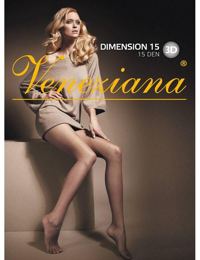 Rajstopy Veneziana Dimension 15 den 5-XL