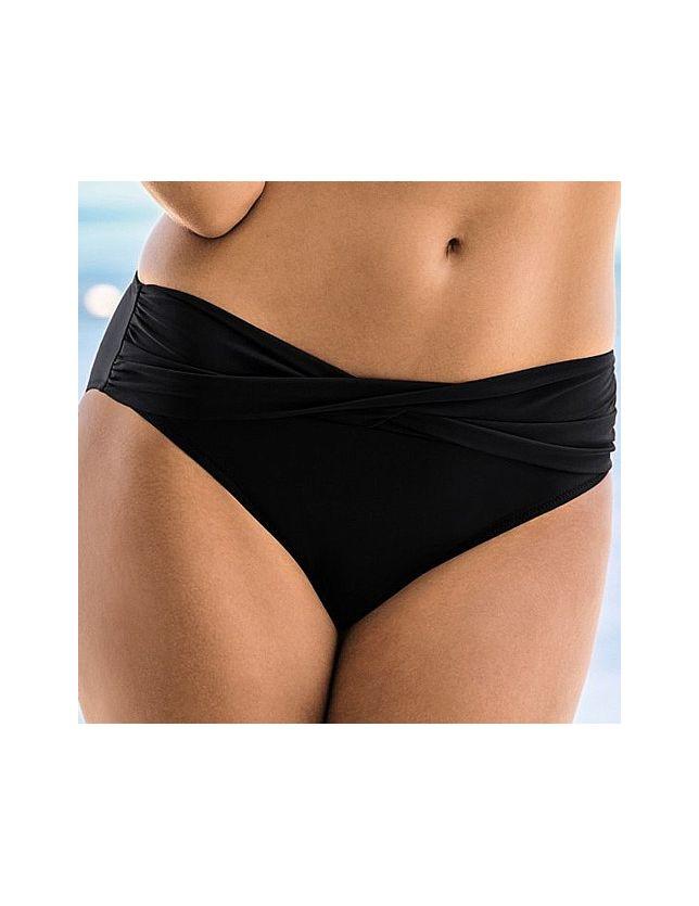 Liz 8707 variálható bikini alsó - fekete