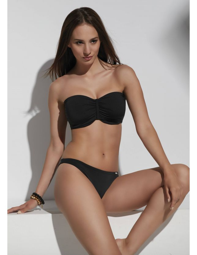 Beach sima bikini alsó fekete