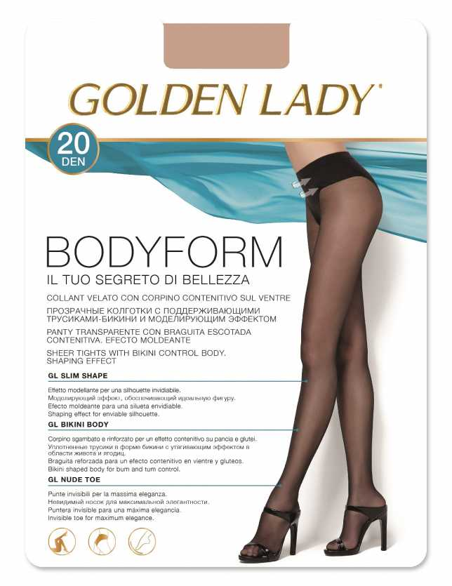 Rajstopy Golden Lady Bodyform 20 den