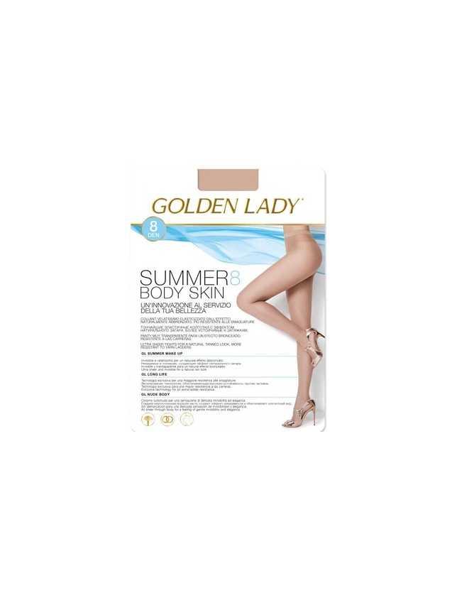 harisnya Golden Lady Summer Body Skin 8 den 5-XL