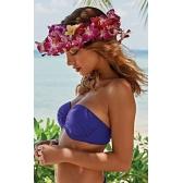 Cosima előformázott  bikini felső -liláskék 75D