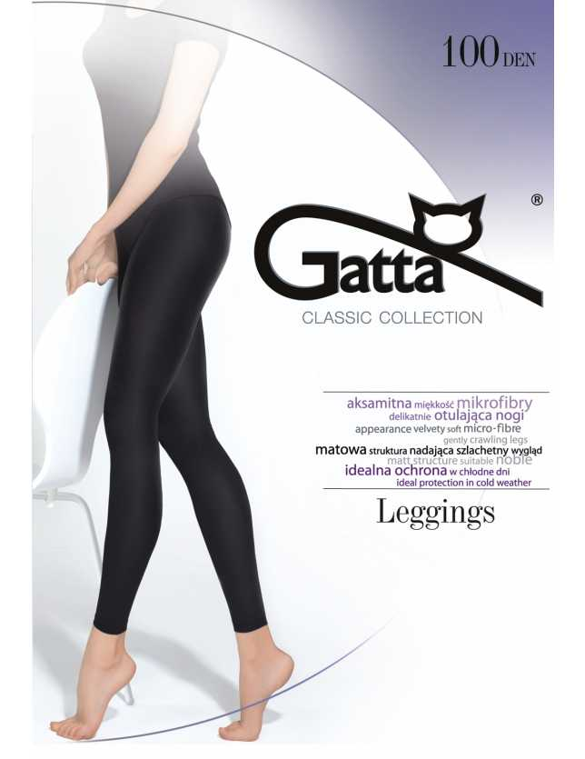 Női leggings Microfibra 100 den 2-4
