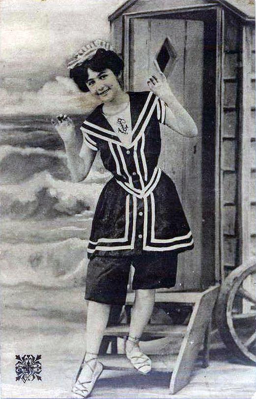fürdőruha divat 1900-as évekből