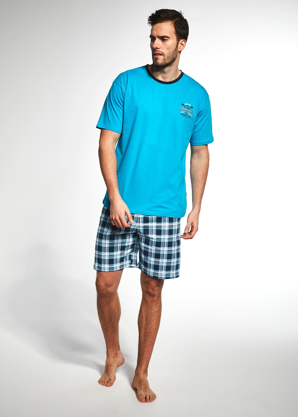 rövid férfi pizsama
